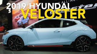 2019 Hyundai Veloster/Veloster Turbo/Veloster N: 5 Things You Need to Know - 2018 Detroit Auto Show