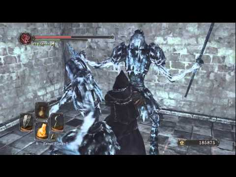 Ds2 Crown of the Ivory king Northwarder set and soulflash location