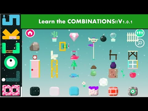 LEARN  THE COMBINATIONS!!! Toca Blocks By Toca Boca -  Bulid your own Toca Blocks World!!!