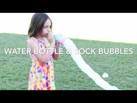 DIY Water Bottle Snake Bubble Wand