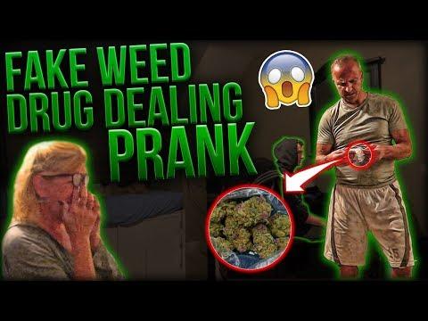 Hilarious *CAUGHT SELLING FAKE DRUGS* PRANK On Parents!!
