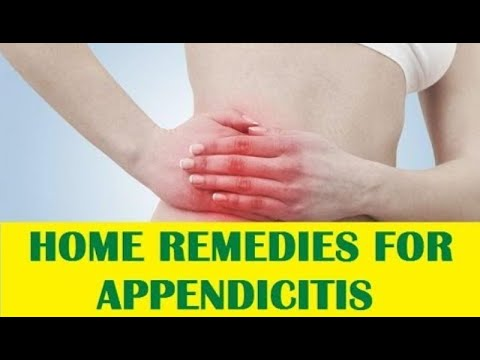 Top 10 Home Remedies to Cure Appendicitis