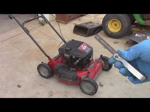 Getting an Old Murray Mower Working (1998)
