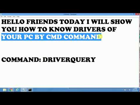 Learn Computer Part 5 Familiar with CMD Command