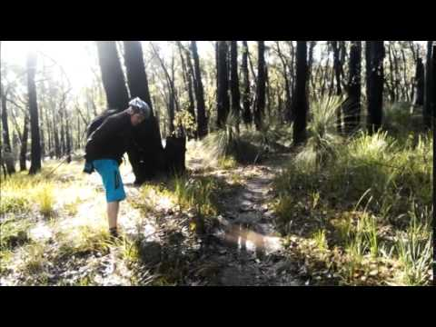 How to clear a drain on a mountain bike trail