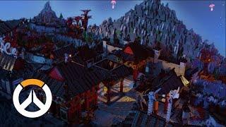 Busan LEGO Diorama   Overwatch Lunar New Year 2019