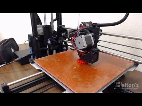 Custom with TazBot 5 Lulzbot - Custom Object - LIVE!