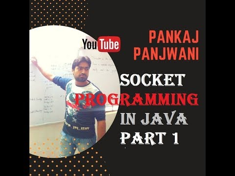 Socket Programming in Java |  Part 1 | By Pankaj Panjwani | Hindi