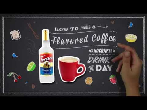 How To: Torani Flavored Coffee + Bar tip