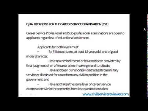 How To Apply for Civil Service Exam
