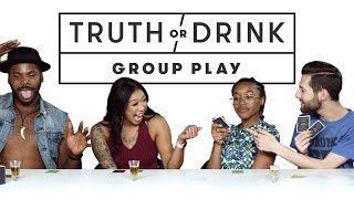 Truth or Drink Group Play (Jim, Sav, Chanarah & Curtis)   Truth or Drink   Cut