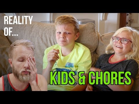 HOW TO GET YOUR KIDS TO DO THEIR CHORES!
