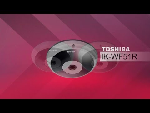 Toshiba IP Video Product Accessories for IK WF51A and IK WF51R