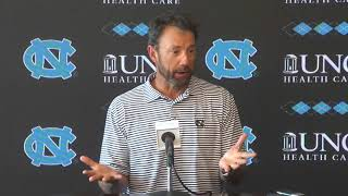 UNC Football: Larry Fedora Weekly Press Conference - 9/25