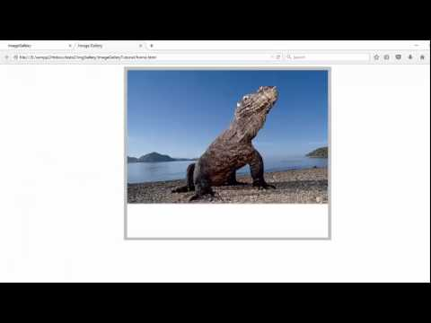 Creating an Image Gallery using HTML, CSS and JavaScript