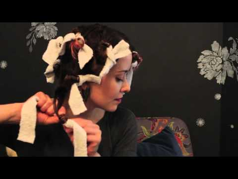 Butterfly Jac Salon Rag Roller Tutorial