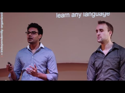 One Simple Method to Learn Any Language | Scott Young & Vat Jaiswal | TEDxEastsidePrep