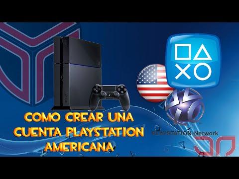 Como crear una cuenta PlayStation Americana - Tutorial