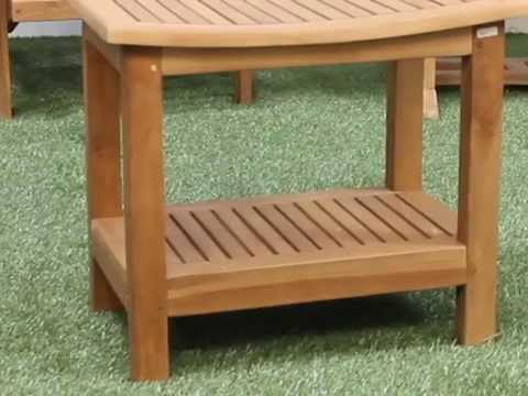 Teak Shower Seat/Stool