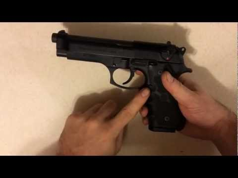 Beretta M9 (92FS) Review - Disassembly and Reassembly Tutorial