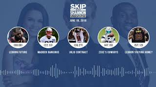 UNDISPUTED Audio Podcast (6.19.18) with Skip Bayless, Shannon Sharpe, Joy Taylor | UNDISPUTED