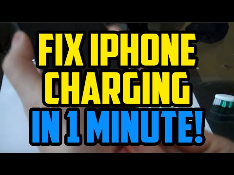 iPhone Charging Problem Fix IN 1 MINUTE! How To Fix iPhone not charging port problem 2017