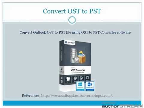 What is OST file and how to recover emails from OST as PST file?