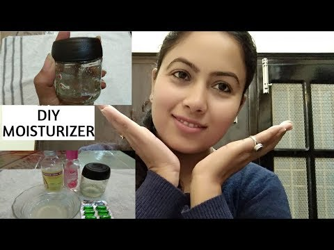 The best natural diy moisturizer for dry/rough/itchy skin(glycerin, rosewater)