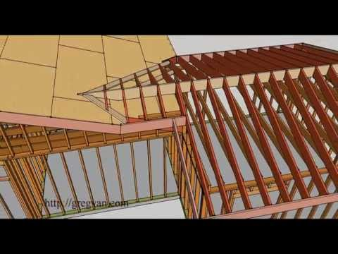 How To Frame a Roof for an Offset Room Addition – Building and Remodeling Tips