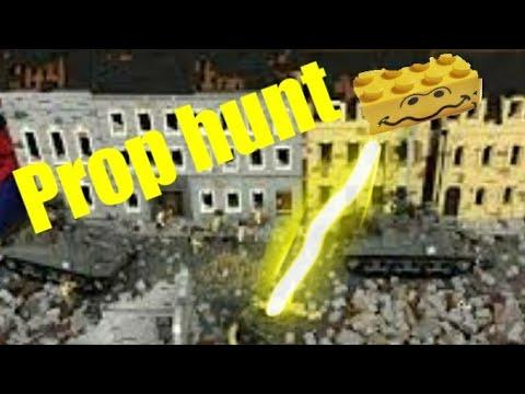 Lego cod ww2 prop hunt (LEGO ANIMATION)