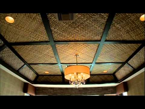 Vanilla Ice Project - Tahitian Bamboo Ceiling
