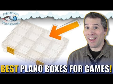 Find the right Plano box for your favorite board games