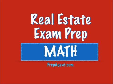 cap rate - Real Estate Exam Math