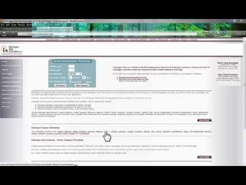 Schengen Visa Insurance Introduction, Requirements