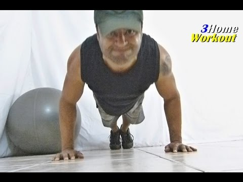 Fitness at home Shoulder Exercise - Hindu Push up 1