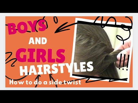 How to Ponytail Hairstyles: Twist Side Wrap Ponytail Styles