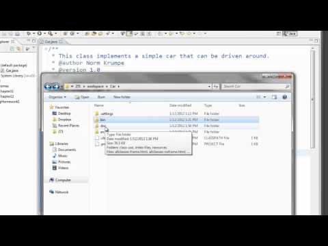 Eclipse Javadoc Tools