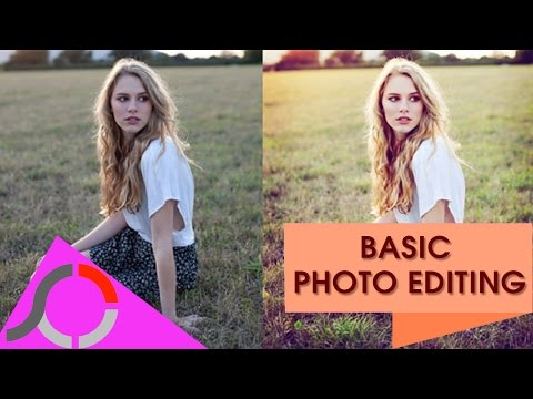 How to use Photoscape for basic photo editing - tutorial by TechyV