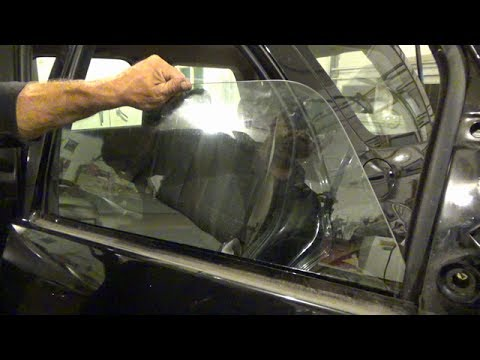 Rear door window glass replacement (2001-2007 Ford Escape)