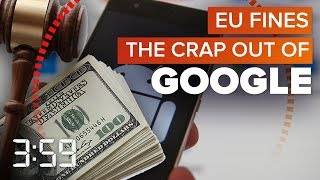 Google fined more than Amazon likely made on Prime Day (The 3:59, Ep. 428)