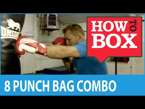 8 Punch Combination for Heavy Bag Boxing Workout