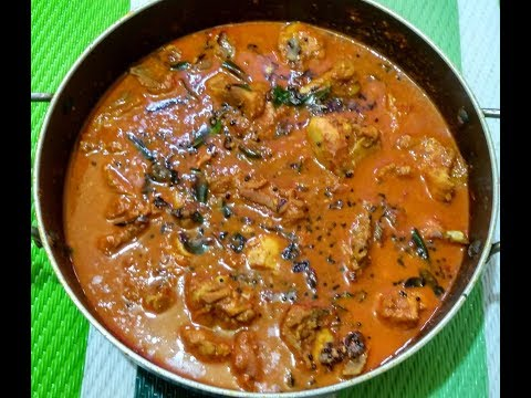 Chicken Curry for Appam Parotta Chapathi and Bread / No - 286