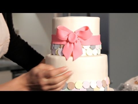 How to Make a Fondant Ribbon & Bow | Wedding Cakes