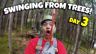 ZIP LINING OVER A WATERFALL IN ALASKA!!! Grizzly Falls Zip Line Skagway Alaska - Cruise Week Day 3