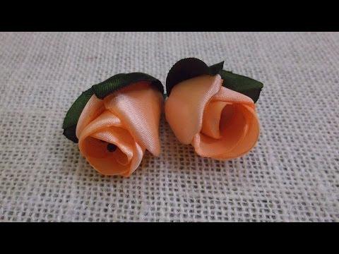 D.I.Y. Satin Rose / Peony Flower Bud - Tutorial | MyInDulzens