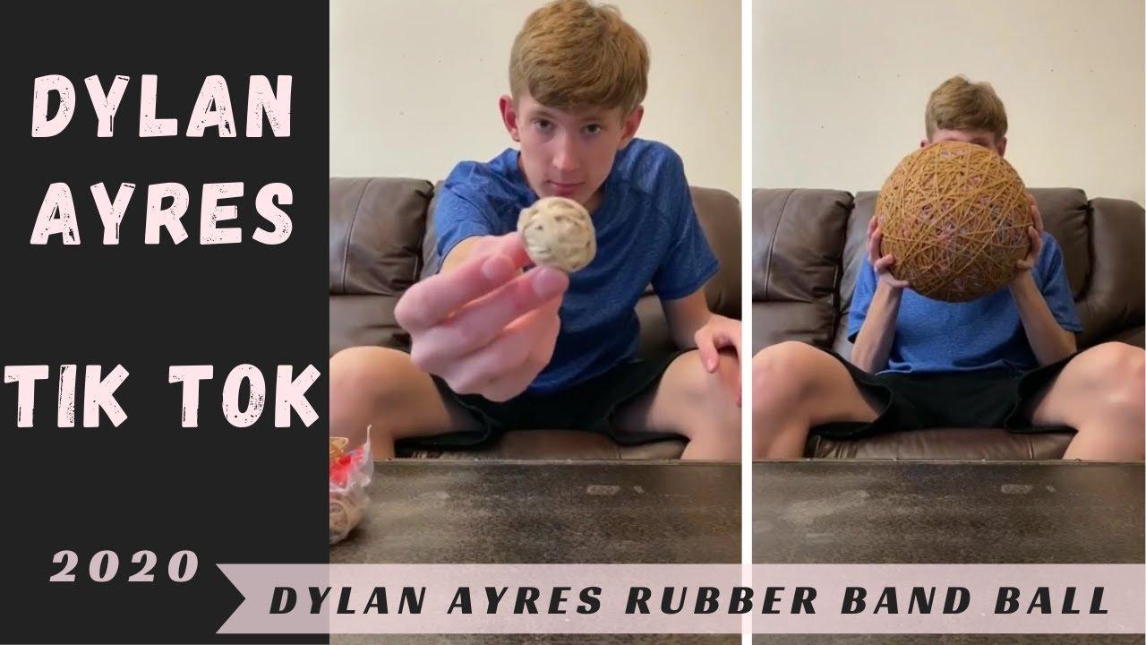 Dylan Ayres Rubber Band Ball Tik Tok Videos