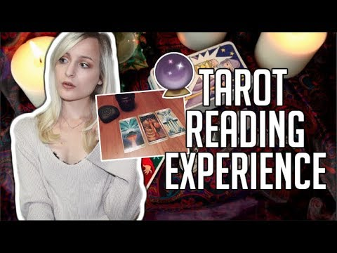 MY FIRST TAROT CARD READING EXPERIENCE