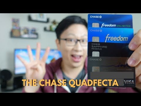 Chase 4 Card System for Free Flights (2017)