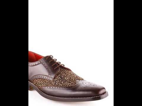 Mens Custom Made Brown Original African Leopard Fur Shoes -UK EU US All  Sizes ( d516a50c2