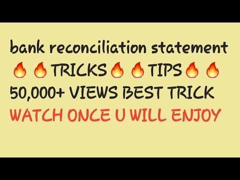 preparation of bank reconciliation